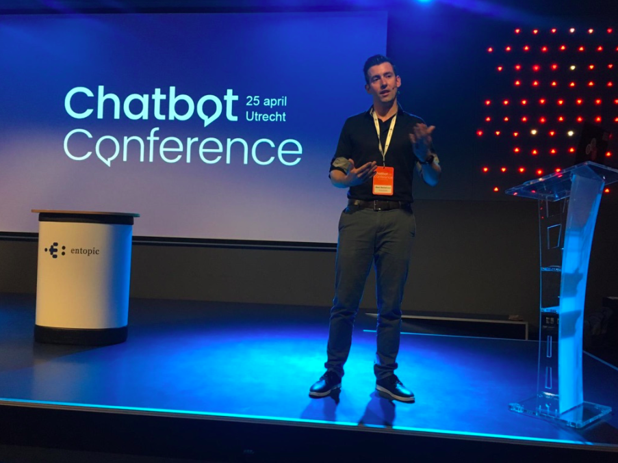 Presenting @chatbot conference